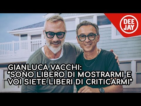 Gianluca Vacchi ospite a Radio Deejay