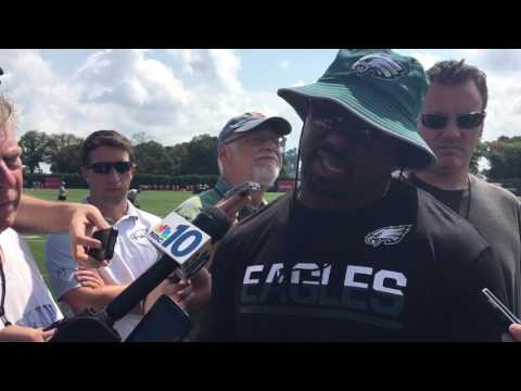 Brian Dawkins on his new role with Eagles