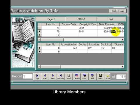 library manager software free  full version