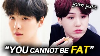 BTS SUGA Revealed Why He Can Never Get FAT..?