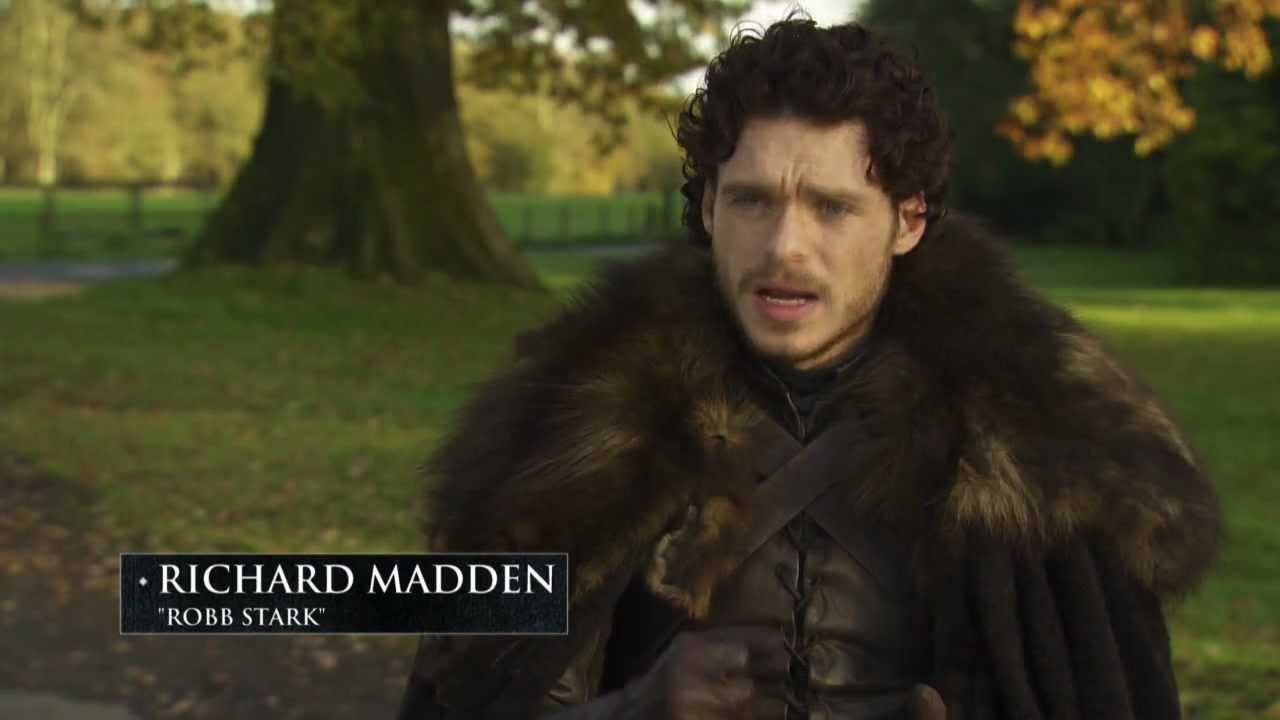 Game Of Thrones Season 2 Character Feature Robb Stark Hbo Youtube