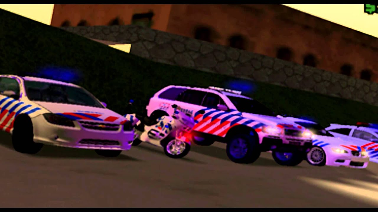 Gta San Andreas Dutch Police Pack Youtube