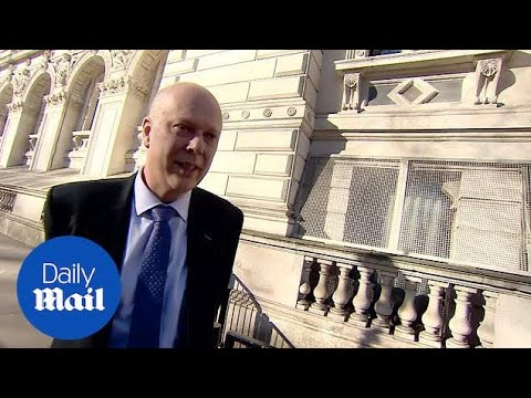 Transport Secretary Chris Grayling denies he's resigning