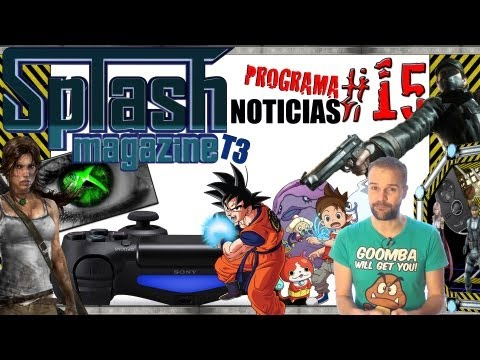 Noticias | Splash Magazine Games | Programa 15 T3