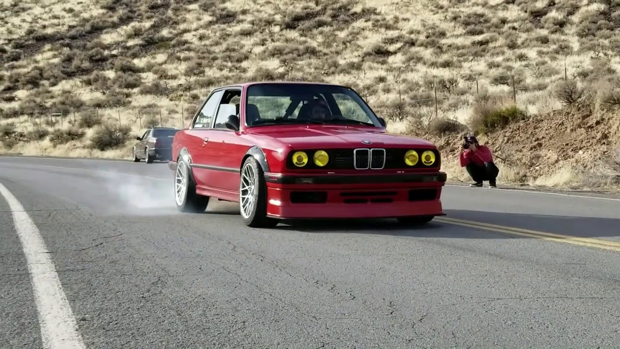 Turbo Itb M20 7psi Bmw E30 Kamotors 325i Fly By Burnout Etc  Kamotors 02:15  HD
