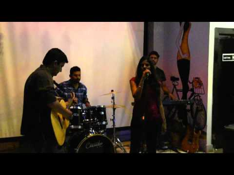 Varshaa performing Zombie, the epic song by The Cranberries