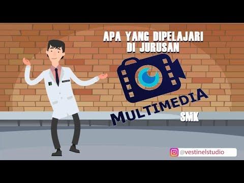 Apa yang dipelajari di jurusan multimedia smk