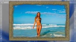 Рамка из песка в Adobe Photoshop CS6