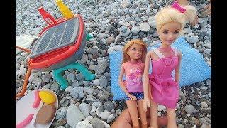 Elif plajda mangal keyfinde , Barbie ile stacy neden kavga ediyorlar