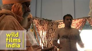 'Prana pratishta' ceremony of 'Sai Baba' idol - Saisthanam temple, Dehradun