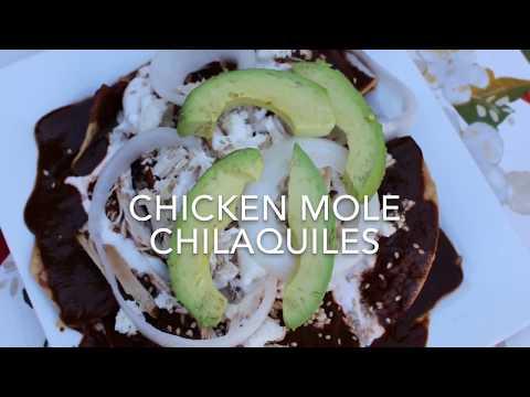Chicken Mole Chilaquiles