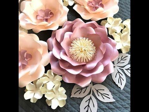 Wild Rose Paper Flower FREE DIY Tutorial