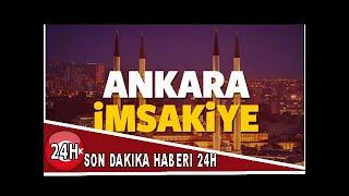 Ankara imsakiye sahur ve iftar vakti! Diyanet ezan saatleri açıkladı 2018
