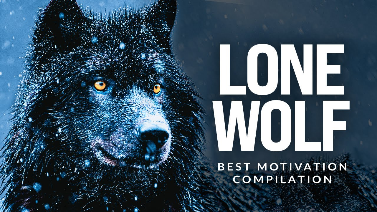 LONE WOLF - Best Motivational Speech Compilation For Those Who Walk Alone