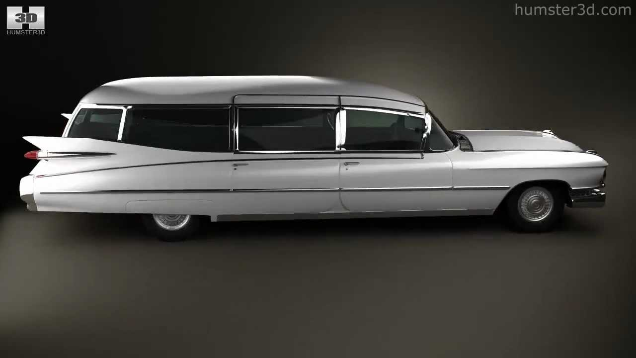 Cadillac Fleetwood 75 Miller-Meteor Hearse 1959 by 3D model store ...
