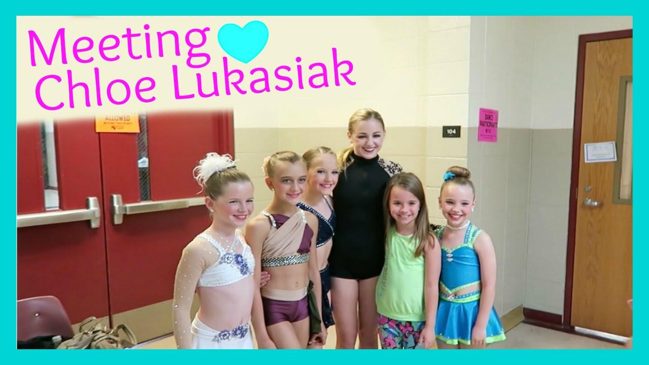 Meeting Chloe Lukasiak Of Dance Moms Youtube