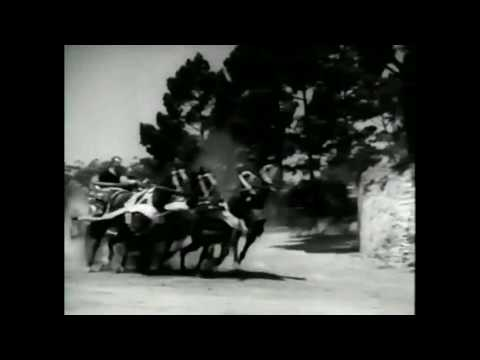 The Roman Scandals 1933 Chariot chase