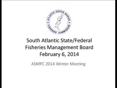 ASMFC South Atlantic Board Winter 2014
