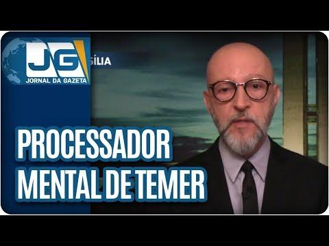 Josias de Souza/Processador mental de Temer está sobrecarregado