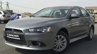 Mitsubishi Lancer X for 385000r - check the car before you buy