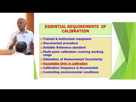 ILSI India: Calibration/Intermediate Check of Measuring and Volumetric Equipment (Mr. Subramanian)