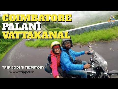 A Trip to Vattakanal from Coimbatore  - Couple Travel Video Part 1