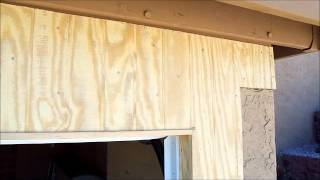 Adobe Garage Doors Custom Garage Door And Opener Framing Project Video 5 Of 5