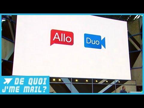 """Google lance sa messagerie """"Allo"""" et déclare la guerre à WhatsApp  DQJMM (1/3)"""