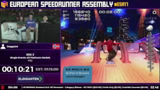 #ESA17 Speedruns - SSX 3 [Single Events All Platinum Medals] by Daggyboi