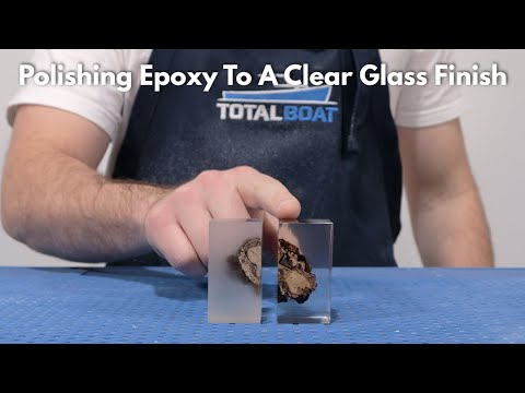 How to Polish Epoxy to a Clear Glass Finish