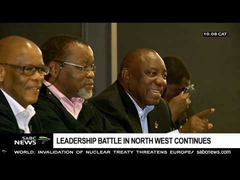 Leadership battle continues in NW ANC