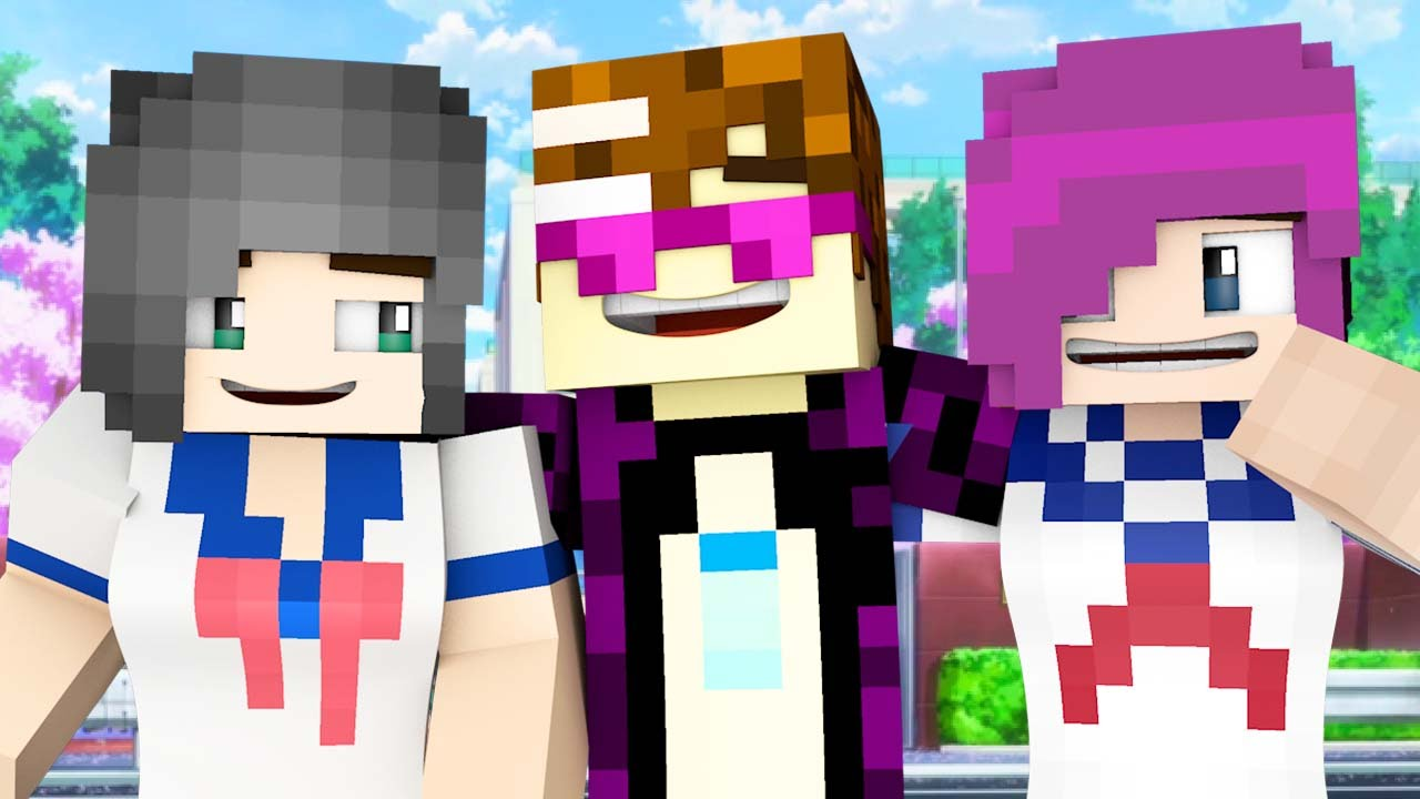Naked girls in minecraft in college Yandere College Double Senpai Dates Minecraft Roleplay Adventure 1 By Papafearraiser