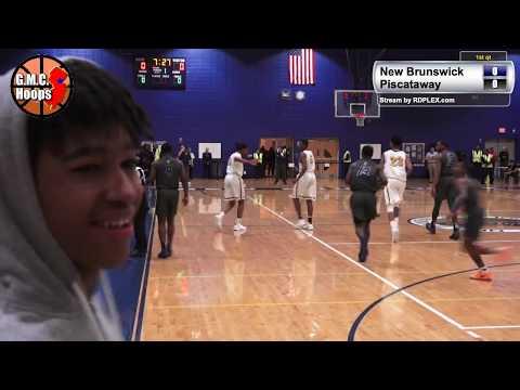 New Brunswick vs Piscataway - 2019 Boys Basketball Playoffs 6pm