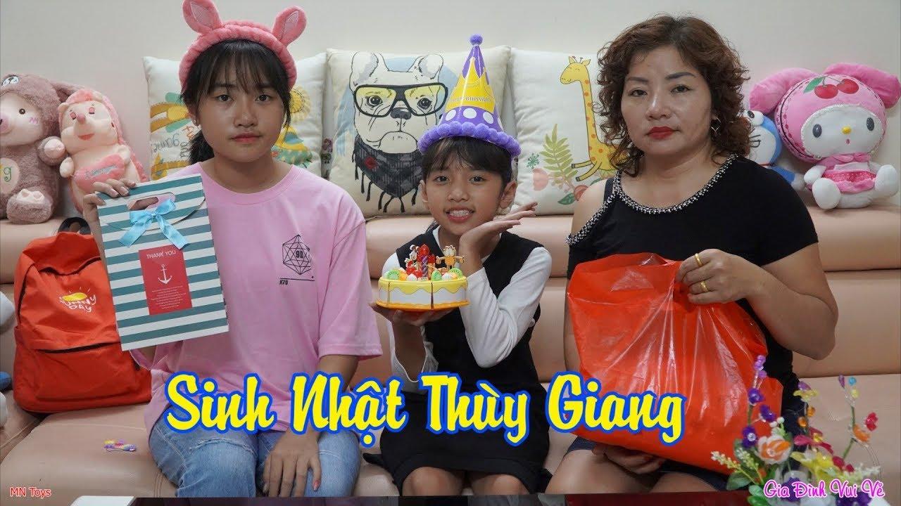 Sinh Nhật Thùy Giang Tròn 10 Tuổi - Gia Đình Vui Vẻ - MN Toys