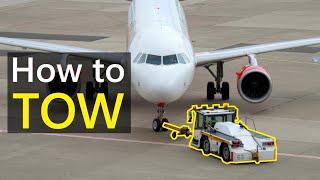 AIRCRAFT | A320 Pusнback & Towing