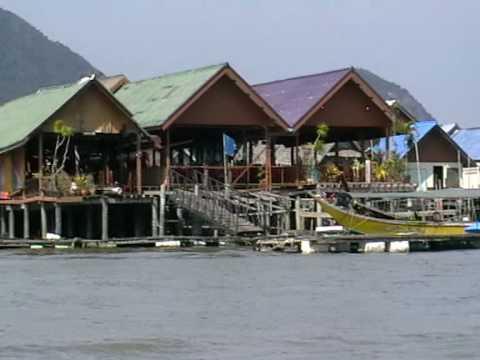 Ko Panyi Fishing Village At Phang Nga Bay