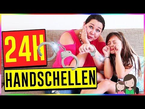 24 Stunden Handschellen! Ava mit Handschellen an Mama gekettet!  Alles Ava