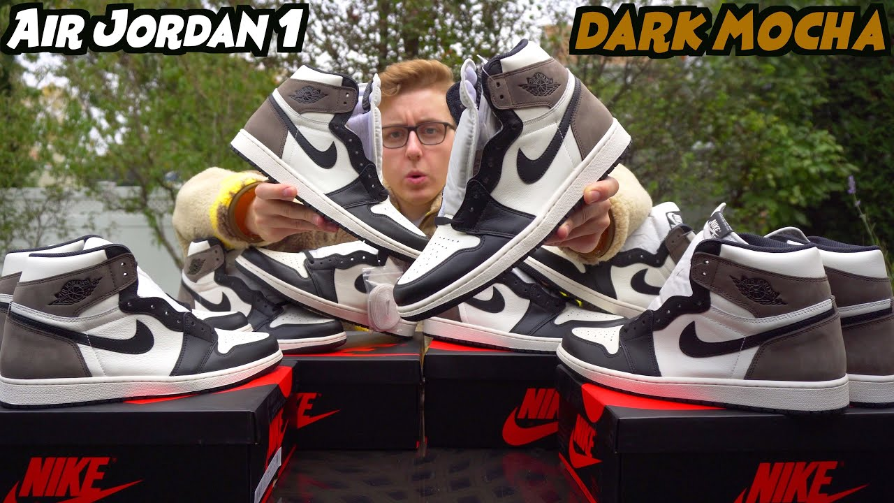 "WORTH THE BUY? Nike Air Jordan 1 ""Dark Mocha"" Early In Hand Review! 