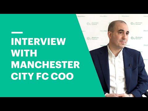 How to Get a Job in Football. Omar Berrada, COO of Manchester City FC, shares his tips.