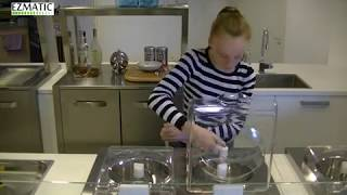 Ezmatic Gelato Machine, how to make fresh gelato