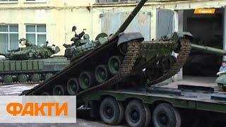 На Харьковском бронетанковом возвращают к жизни танки, которые ржавели 30 лет