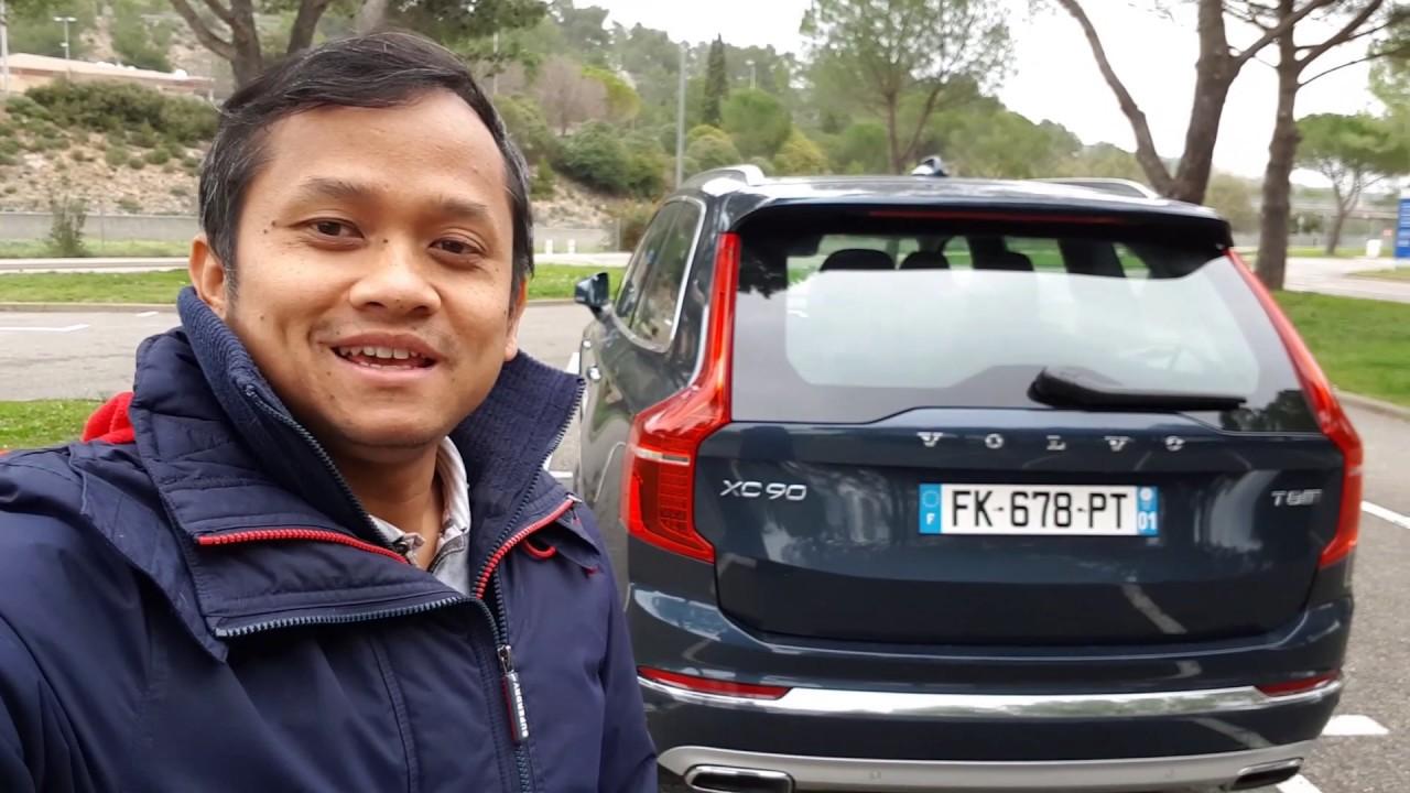 Nyobain Volvo XC90 T8 Hybrid - Bisa Ngebut bisa juga Hemat