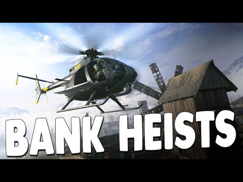 Bank Robbery Simulator $1,000,000 Cash Grabs & Chases - Call of Duty: Warzone Gameplay - 동영상