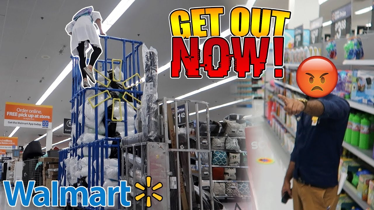 Kicked out of walmart