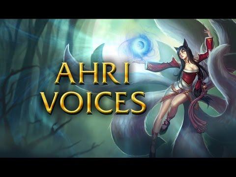 LoL Voices - Ahri - All 17 languages