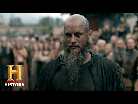 Vikings: Ragnar Returns to Kattegat (S4, E10) | History