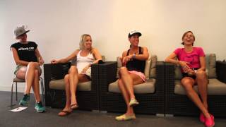 WITSUP Noosa ride and VIP breakfast panel 2014