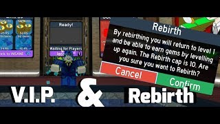 REBIRTHING AND GOT VIP! | ROBLOX Flood Escape 2