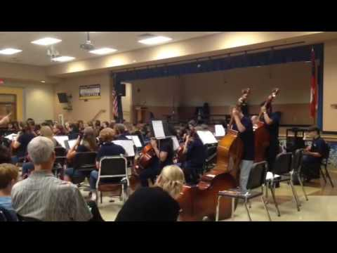 Chamblee Middle School 7th grade orchestra Stairway to Heaven