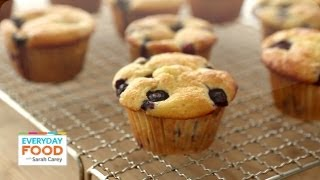 Lighter Blueberry Muffins - Everyday Food with Sarah Carey